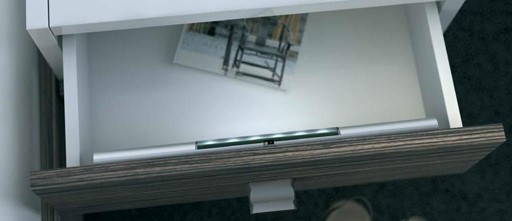 Đèn led ngăn kéo hafele 24VDC Loox Led 9005 833.87.020