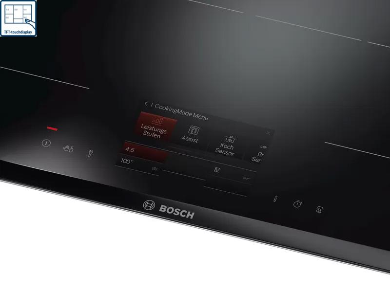 Bếp từ Bosch PXY875KW1E TFT TouchDisplay