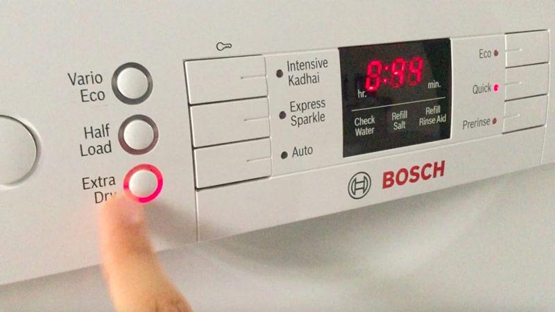Máy rửa chén Bosch SPV6ZMX23E Extra Drying