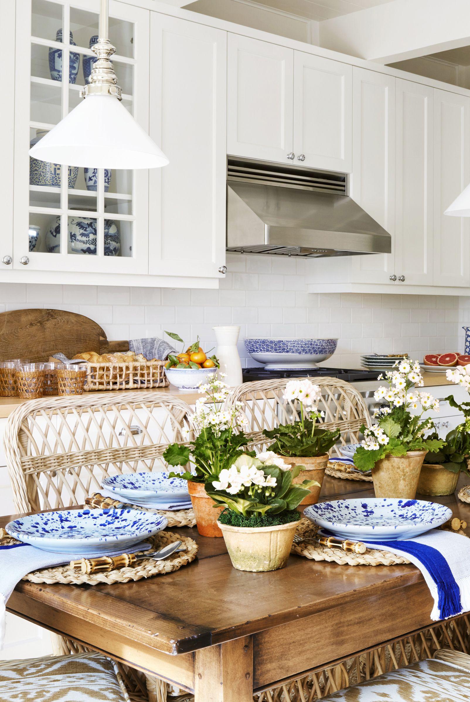 Nội thất nhà bếp Wicker