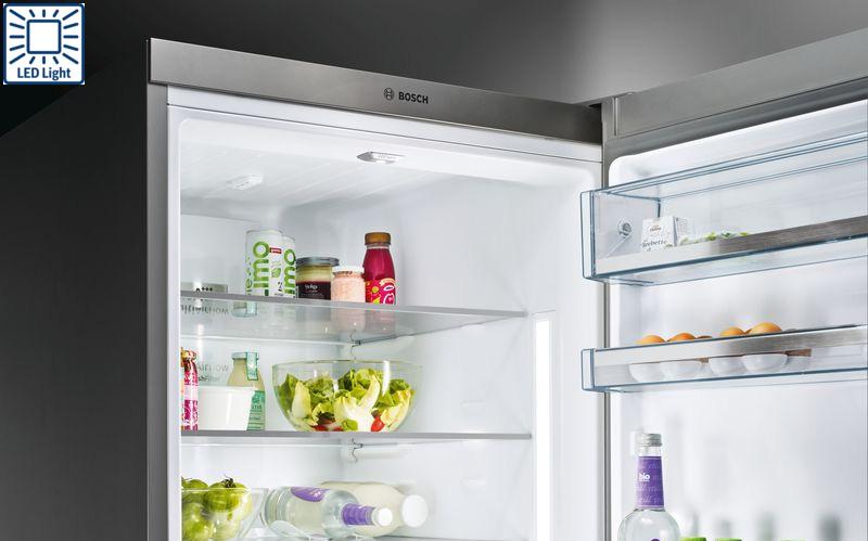 Tủ lạnh Bosch KIR81AFE0 led light