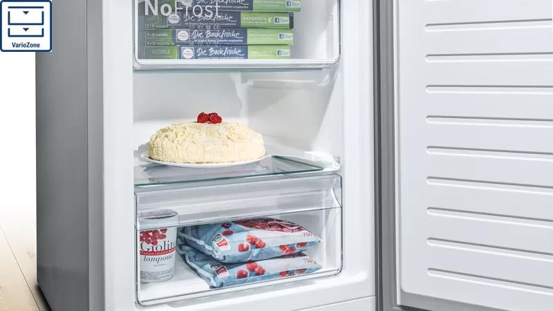 Tủ lạnh Bosch KFN86AA76J Vario Zone
