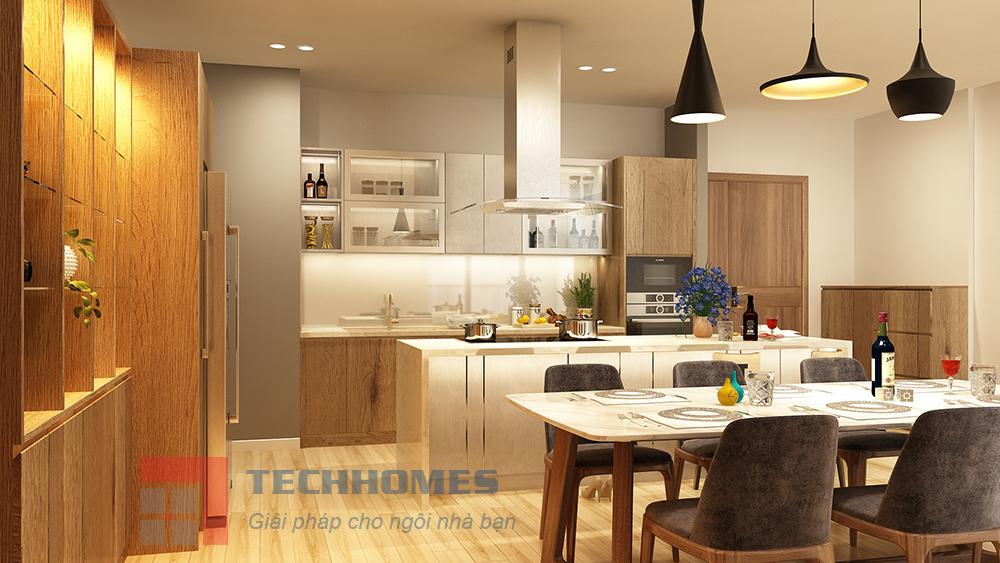 Thiết kế và Thi Công Bếp Midtown quận 7