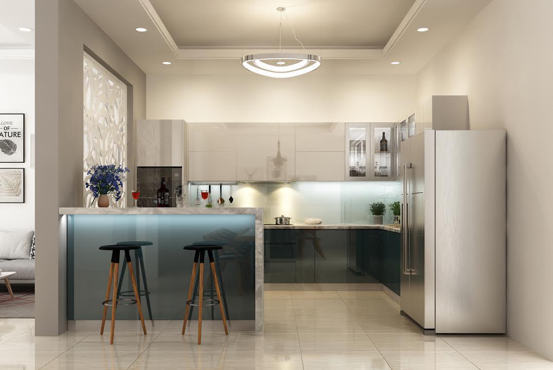 Thiết kế và thi công tủ bếp tạiVũng Tàu