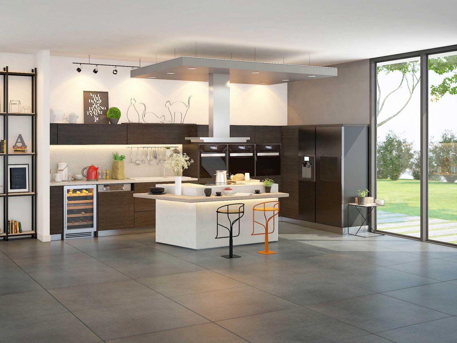 Giải pháp cho bếp Bếp hiện đại