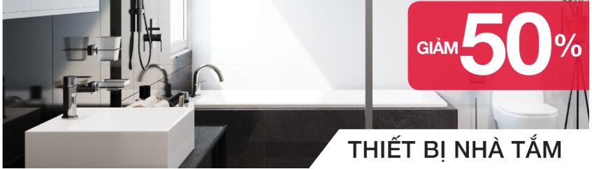 Thiết bị nhà tắm Hafele Giảm tới 50%