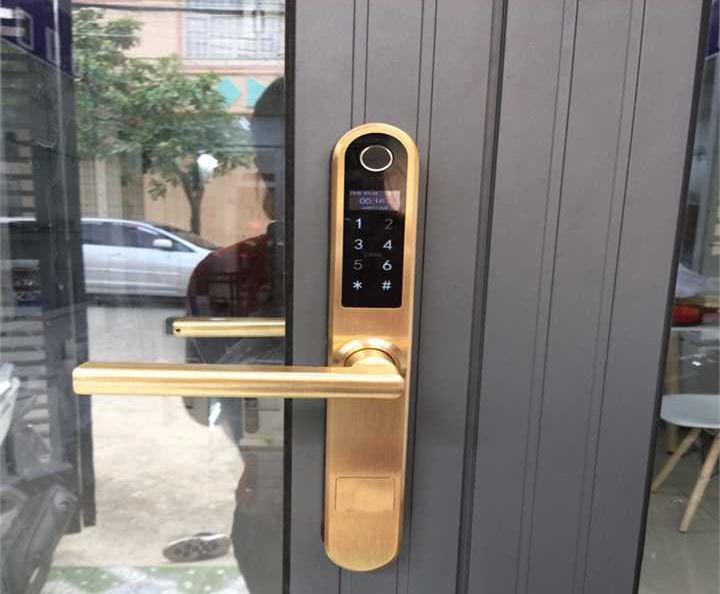 khóa cửa Hafele