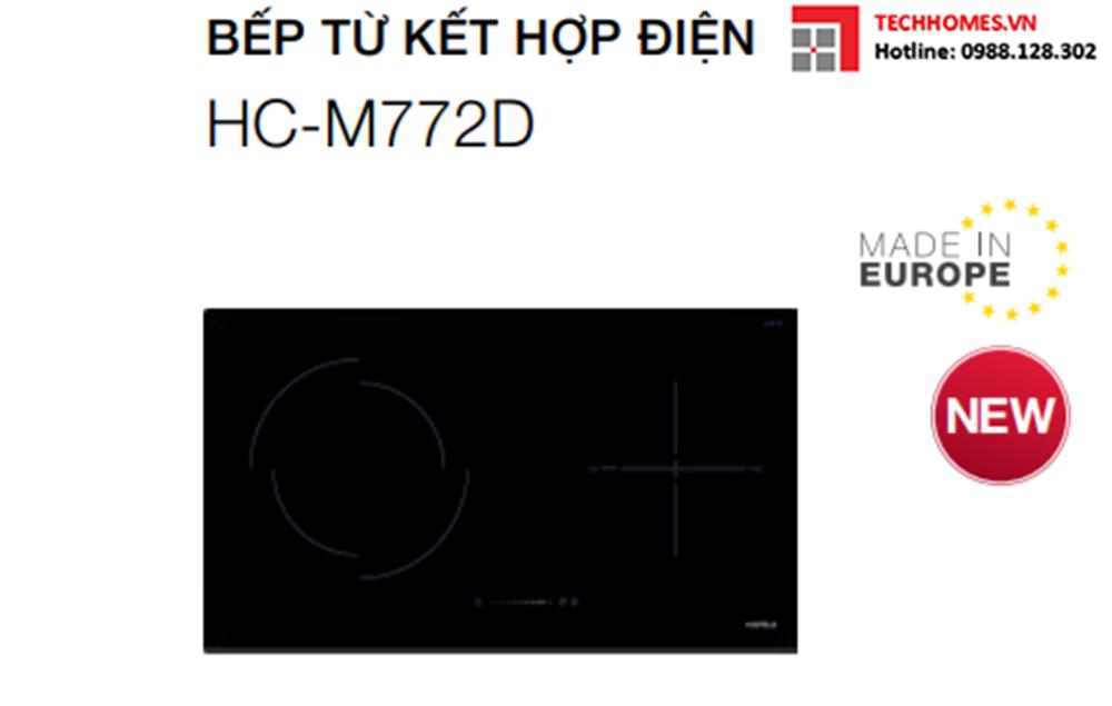 Bếp từ kết hợp điện 2 vùng nấu HC-M772D-536.61.695