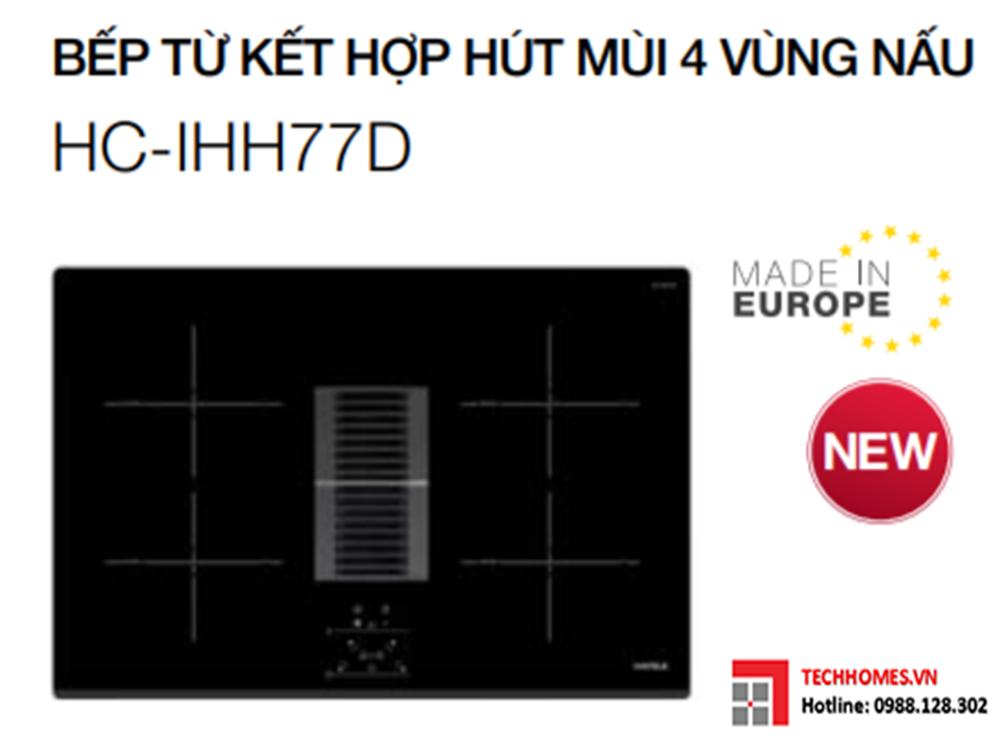 BẾP TỪ KẾT HỢP HÚT MÙI HAFELE HC-IHH77D 536.61.655