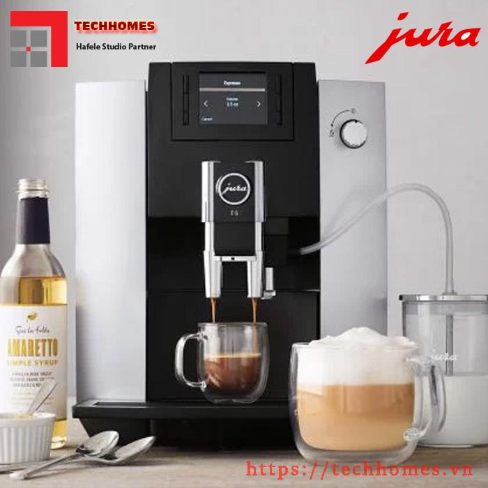 Máy pha cafe tự động Jura E6 Platin - Chính Hãng giá rẻ