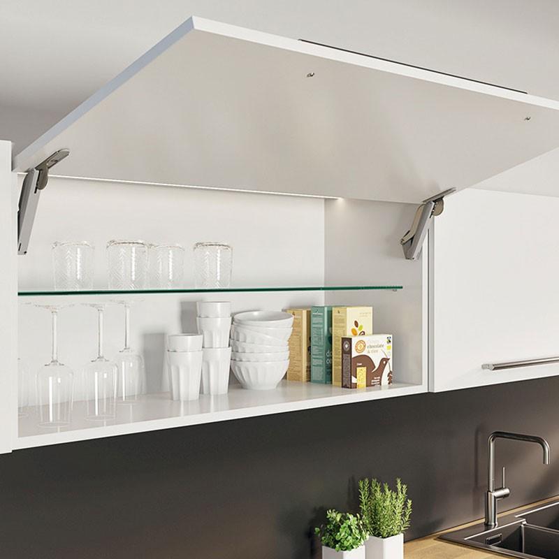 Tay nâng Free space – Bước đột phá trong phụ kiện nội thất