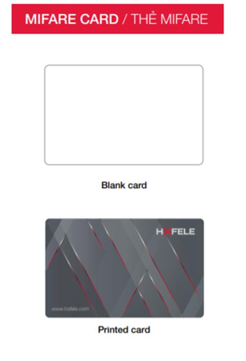 Thẻ Mifare Hafele 917.80.737