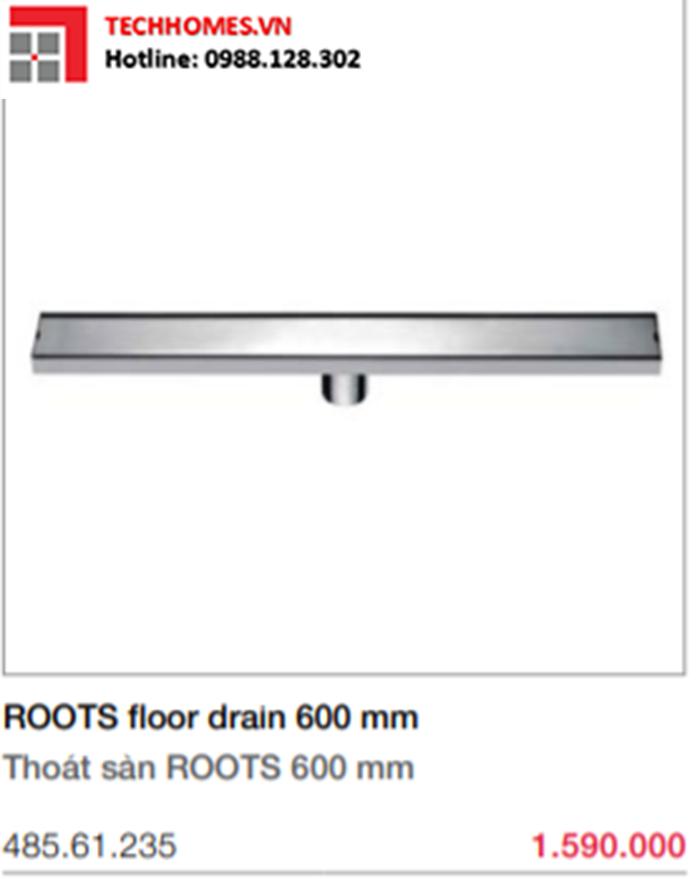 Thoát sàn 600 mm Phụ kiện phòng tắm 485.61.235
