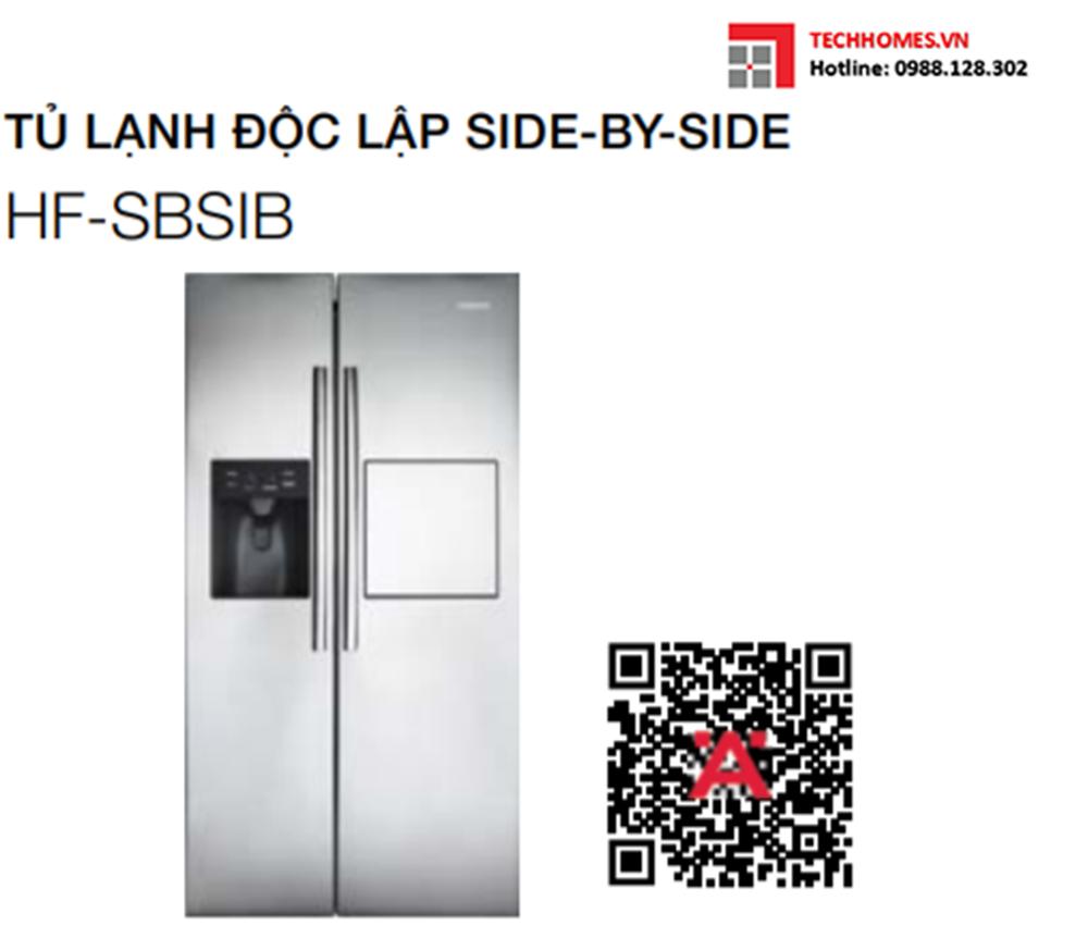 Tủ lạnh hafele HF-SBSIB 534.14.250