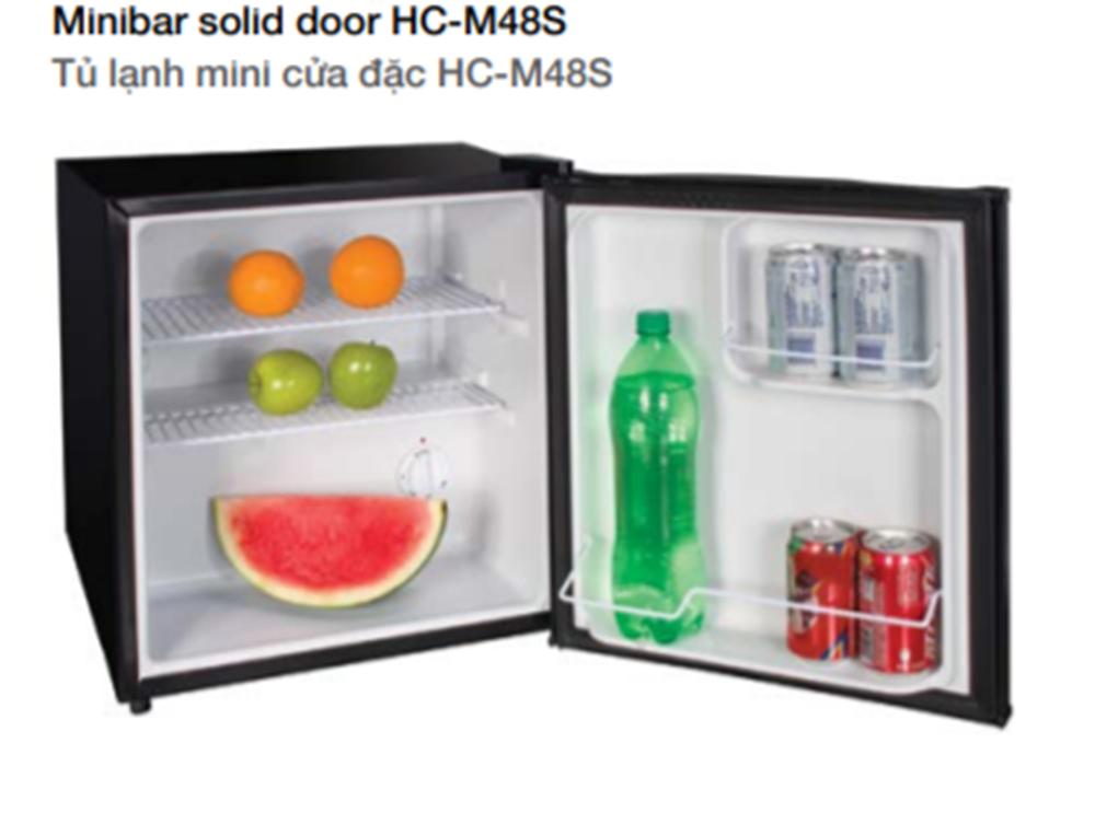 Tủ Lạnh Mini Cửa Đặc HC-M48S Hafele 568.30.311